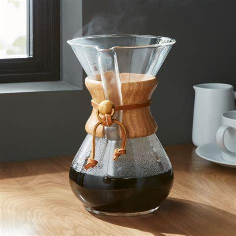chemex  cup coffeemaker  wood collar reviews