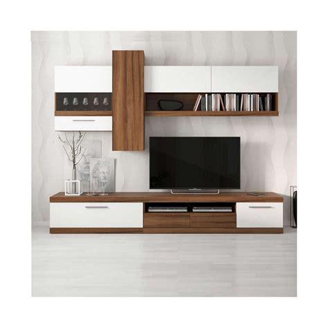 colonne cuisine meuble tv miami blanc séjour meuble tv
