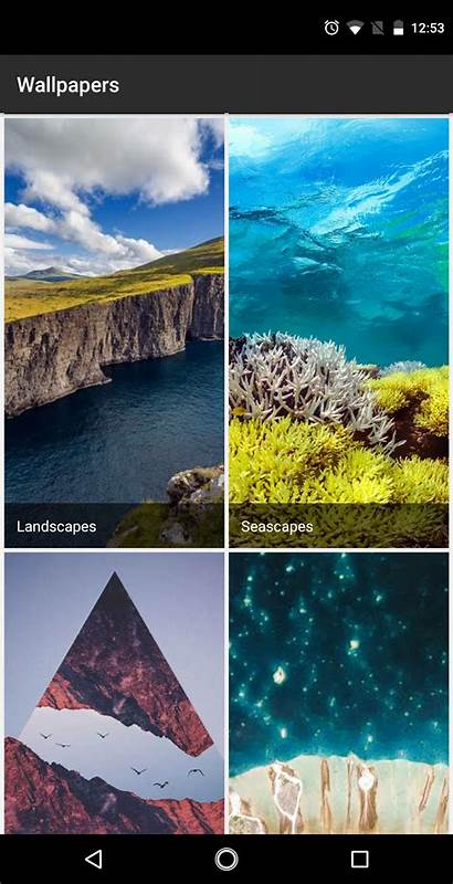 Google Wallpapers Seascapes Play App Adds Official