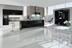 Schwarze Hochglanz Küche : k che in schwarz hochglanz modell 5090 von premio k che ~ Sanjose-hotels-ca.com Haus und Dekorationen