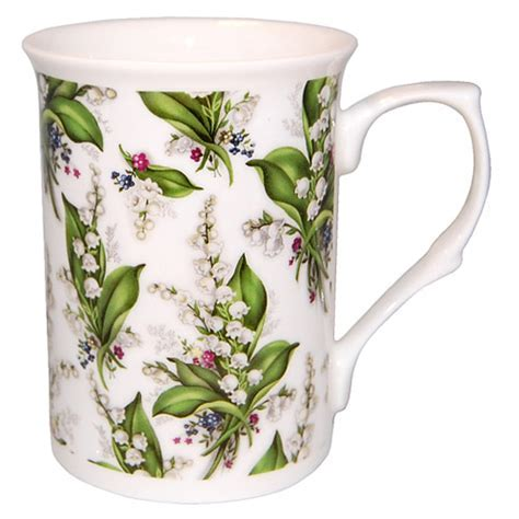 Lily of the Valley Chintz Bone China Mug