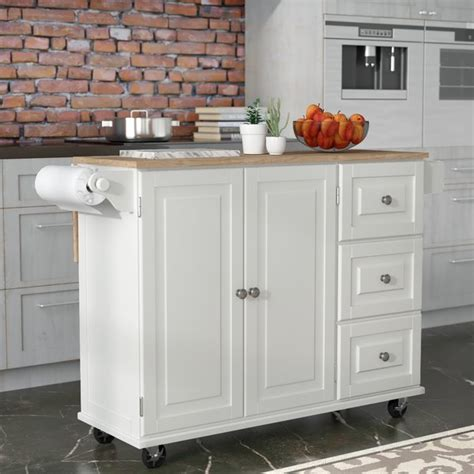 small white kitchen island kuhnhenn kitchen island reviews birch 5569