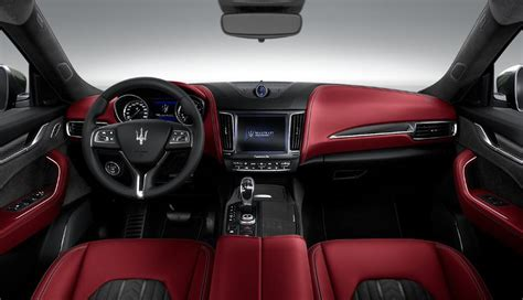 suv maserati interior how we d spec it maserati levante robert vasquez
