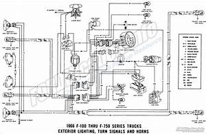 66 F100 Wiring Ignition Switch Diagram
