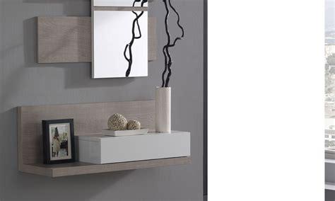 miroir d entree meuble d entr 233 e avec miroir contemporain ingres