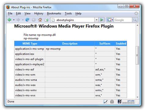 Installing Windows Media Player Plugin For Firefox