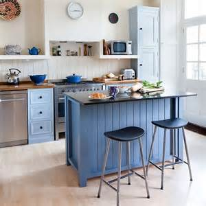 painted kitchen islands make the island the centre of the kitchen colourful kitchen housetohome co uk