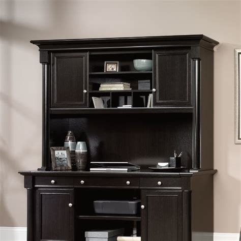 Sauder Executive Desk With Hutch by Sauder Avenue Eight Desk Hutch Reviews Wayfair Supply
