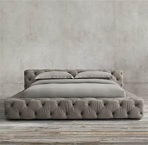 Tête De Lit Pas Cher : choisissez un lit en cuir pour bien meubler la chambre ~ Melissatoandfro.com Idées de Décoration
