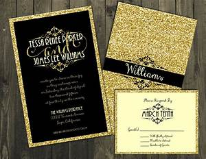 black and gold wedding invitation wedding invitations With black and gold wedding invitations uk