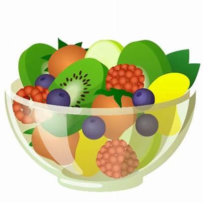 Fruit Transparent Clipart Salad Clip Berry Cartoon
