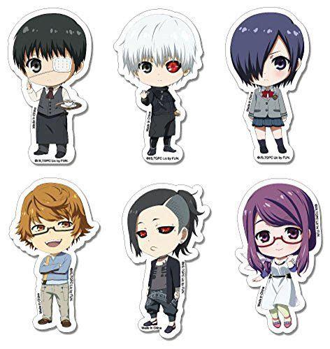 tokyo ghoul sticker kaneki touka rize uta group sd sticker moby site us tokyo ghoul