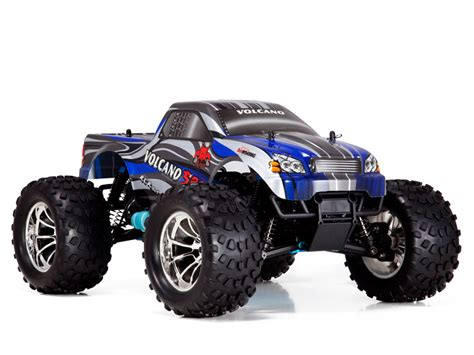 nitro rc monster trucks redcat racing volcano s30 1 10 scale nitro monster truck 2