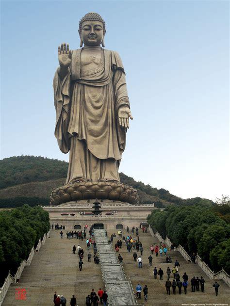 ling shan buddhist theme park wuxi city jiangshu