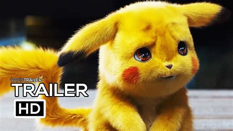 Detective Pikachu Official Trailer (2019) Ryan