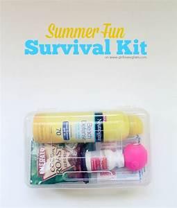 Kit Auto Glam : summertime fun survival kit shops survival and first aid ~ Medecine-chirurgie-esthetiques.com Avis de Voitures