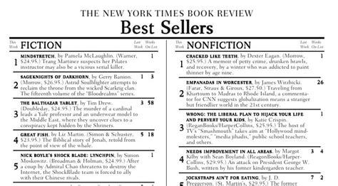 Best Seller List Philosophical Monday The Birthday Bestseller List