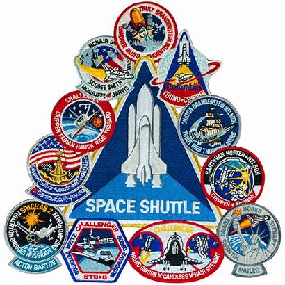 Shuttle Patch Collage Space Patches Nasa Vector
