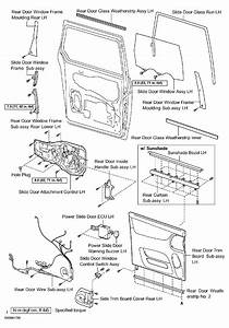2004 Toyota Sienna Sliding Door Diagram
