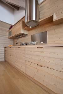 Cuisine Bois Clair : cuisine contemporaine bois en 75 propositions de design ~ Melissatoandfro.com Idées de Décoration
