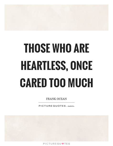 Cared Too Much Quotes