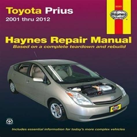 service manual hayes auto repair manual 2001 toyota sequoia free book repair manuals genuine toyota prius 2001 thru 2012 haynes repair manual by editors of haynes manuals 9781620920664 ebay