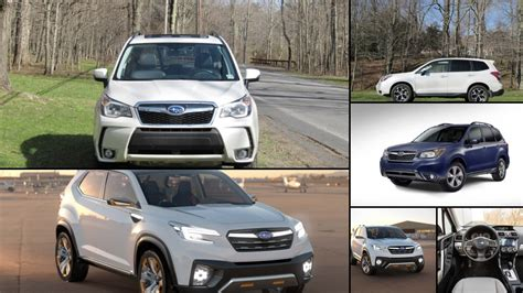 Subaru Forester  All Years And Modifications With Reviews