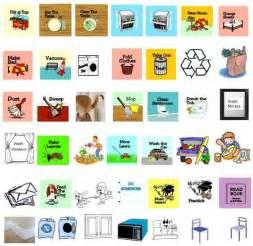 Free Printable Kids Chore Chart Icons