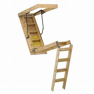 Escalier Escamotable Grenier : escalier escamotable pour grenier quebec ~ Melissatoandfro.com Idées de Décoration