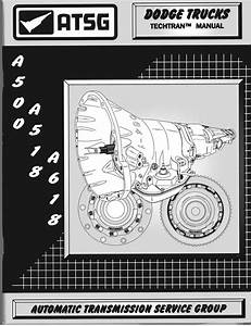 Chrysler A500-42rh  A518-46rh  A618-47rh Service Manual