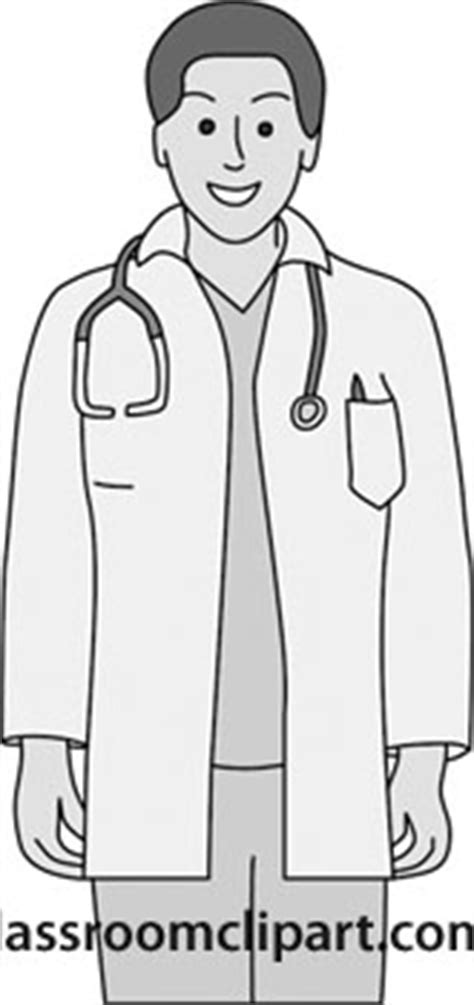 14920 doctor clipart black and white health and gray and white clipart doctor