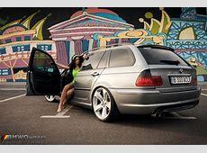 Bimmer and Babe BMW E46 Touring si Andreea Stiri BMW