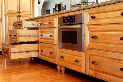 kitchen cabinet drawers counter microwave for easier works traba homes