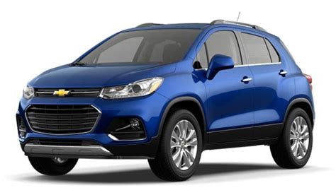 Compare The 2017 Chevrolet Equinox And The 2017 Chevrolet Trax