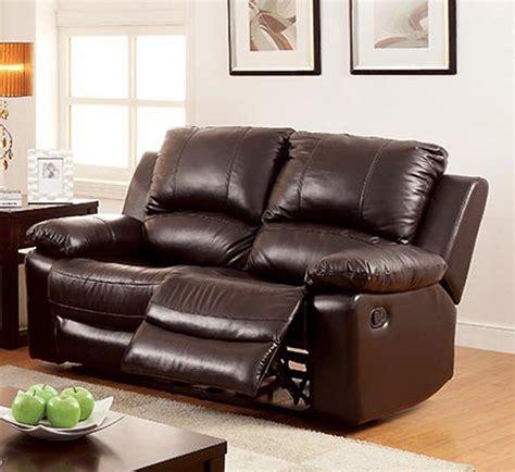 top grain leather sofa furniture of america brown machen top grain leather 6286
