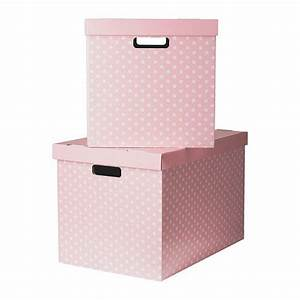 Ikea Aufbewahrungsboxen Mit Deckel : pingla box mit deckel rosa 56x37x36 cm ikea einrichten ikea box with lid og decorative ~ Watch28wear.com Haus und Dekorationen