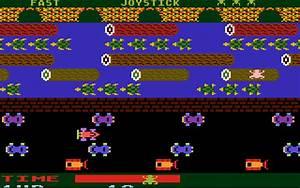 AtariAge - Atari 5200 Screenshots - Frogger (Parker Brothers)