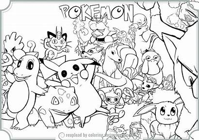 Pokemon Coloring Pages Colouring Sheets Frogadier Games