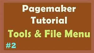Pagemaker Tutorial
