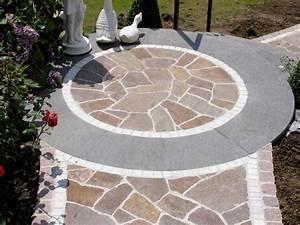Polygonalplatten Auf Beton Verlegen : bodenplatten f r den garten baustoffe ruhr ~ Lizthompson.info Haus und Dekorationen