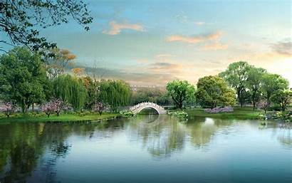 Scenery Japanese Widescreen Nature Desktop Landscape Wallpapers