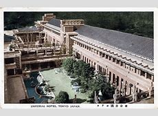 Imperial Hotel 19231968 Old Tokyo