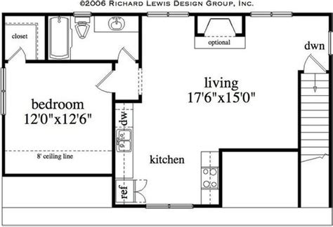 Garage With Living Quarters Floor Plans by Floor Plan For Garage With Living Quarters Traditional 3