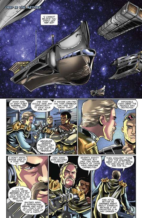 dynamite steampunk battlestar galactica