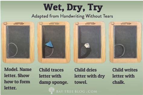 wet dry    rid  letter reversals