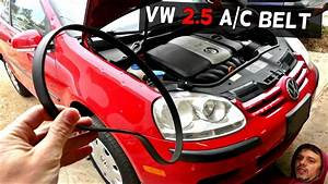 Vw Rabbit Jetta Mk5 2 5 Serpentine Belt A  C Belt Air