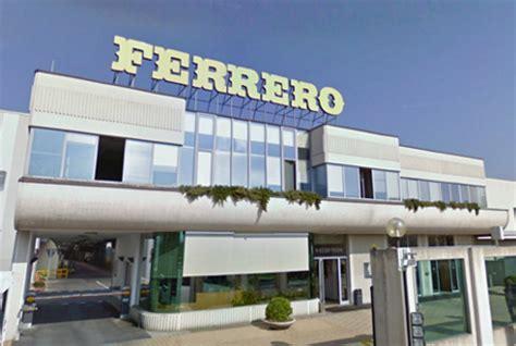 sede della ferrero ferrero al terzo posto tra i leader mondiali della cioccolata