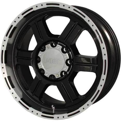 v tec 326 offroad matte black with machined lip vtec wheels