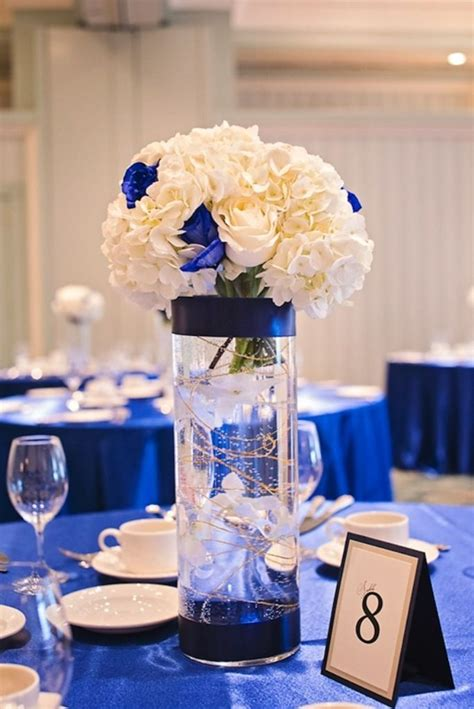 blue centerpiece 25 best ideas about royal blue wedding decorations on pinterest navy gold weddings blue and