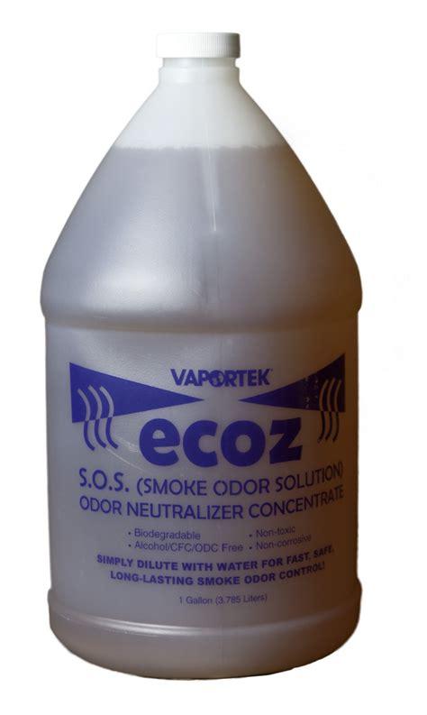 Vaportek ECOZ SOS (Smoke Odor Solution) Neutralizer ...